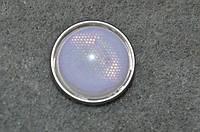 Кнопка  нуса светоотражатель. 18 мм