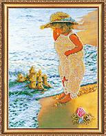 Набор для вышивания бисером Песочный замок