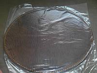 Кожаный коврик для мыши круглый