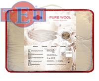 Евро одеяло Шерсть Теп Pure Wool