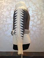 Нарядный детский свитер для девочек Ангора