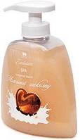 Жидкое натуральное мыло линии SPA, молочный шоколад Арго для рук, лица, тела, питает очищает смягчает