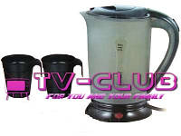 Чайник для автомобиля А-Плюс 0,5л + 2 чашечки в подарок