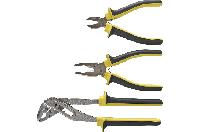 Набор шарнирно-губцевого инструмента, 3 шт., TOPEX  32D136
