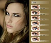 Цветные контактные линзы Adore Dare Акция нулевки