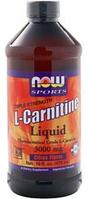 Карнитин жидкий Now Foods L-Carnitine Liquid (3000mg) 473ml