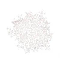 Набор дистанционных крестиков для плитки 4мм (100шт.*уп.) Intertool HT-0354