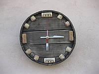 """Настенные часы из дерева """"пробка"""""""