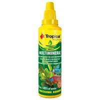 Tropical MULTIMINERAL препарат для обогащения аквариумной воды микроэлементами, 50мл