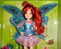 Блум - Кукла Фея Винкс (Winx) - музыкальная, светятся крылышки