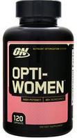 Витамины для женщин Опти вумен Optimum Nutrition Opti-Women Multivitamin 120 caps