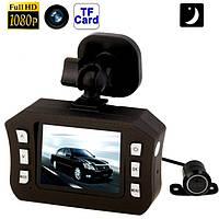 Vehicle BlackBox DVR H900 – автомобильный видеорегистратор с дополнительной камерой заднего вида + GPS