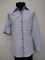 Рубашка для мальчиков Голубая