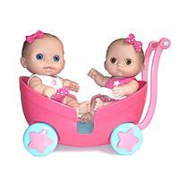 Berenguer, две куклы в коляске, 21см