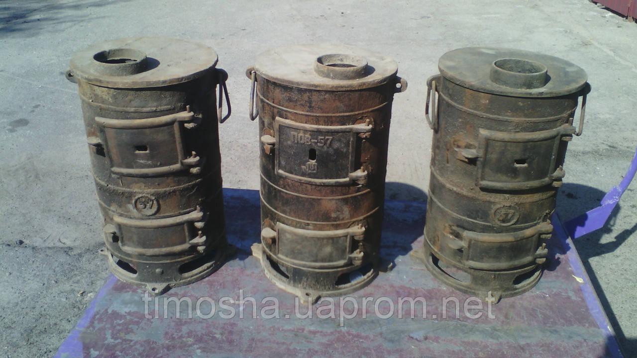 Купить дровяные печибуржуйки ПЧ2 ПОВ57 с доставкой по РФ