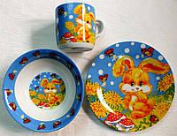 Набор посуды для деток (3 предмета)