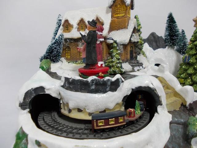 Светодиодный рождественский домик