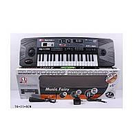Пианино для детей mq-805usb, mp3-плеер, порт usb для флэшек, запись мелодий, микрофон, 37 клавиш, led-дисплей