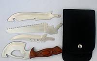 Туристический набор, большой нож, пила, топорик, 4 в 1