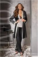 Халат Coemi -  151 674 (женская одежда для сна, дома и отдыха, элитная домашняя одежда, пижама)