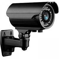 Наружная камера видеонаблюдения lux 405 sl, цветная, с ик-подсветкой, разрешение 420 твл, ручной зум, ip66