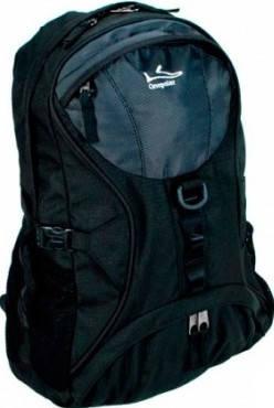 Удобный мужской городской рюкзак 25 л. Onepolar (Ванполар) W1056-black чёрный