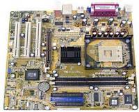 Материнская плата ASUS P4S800-MX SE SiS 661FX/9    + процессор+ кулер