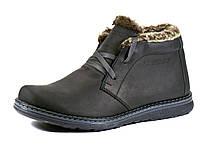 Ботинки зимние черные натуральные кожаные на меху GS-комфорт, фото 1