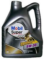 Моторное масло синтетика Mobil (Мобил) 3000 5w30 4л