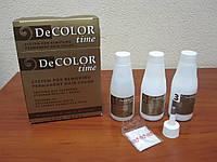 Смывка стойкой краски для волос (Cистема для удаления краски с волос) DeCOLOR Time
