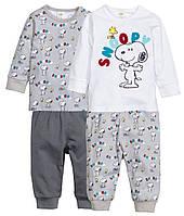 Комплект пижам для мальчика (2шт) 6-9 месяцев