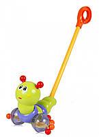 Игрушка музыкальная каталка Гусеница