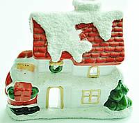 Керамический домик-подсвечник  №229