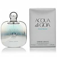 Женская парфюмированная вода Armani Aqua di Gioia Essenza EDP 100 ml (лиц.)