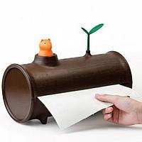 Держатель бумажных полотенец Log&Roll Qualy