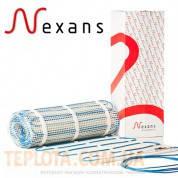 Теплый пол - Двухжильный нагревательный мат NEXANS MILLIMAT - 375W, 2,5 m2