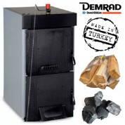 Котел твердотопливный (дрова, уголь) DEMRAD SOLITECHPLUS5 (5 секций 35 кВт)