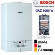 Газовый котел BOSCH Gaz 3000 W ZW 28-2KE котел Бош настенный дымоходный двухконтурный