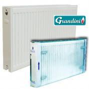 Радиатор отопления стальной панельный GRANDINI тип 11 500 х 1400 (боковое подключение, мощность 1382 Вт)