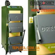 Котел твердотопливный Котел DREW-MET серии MJ-1NM, 14 кВт (дрова, уголь) с вентилятором и электронным управлением