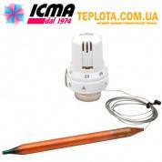 ICMA арт. 992 Термостатическая головка ИКМА с выносным датчиком (рекомендуется для систем ТЕПЛЫЙ ПОЛ)