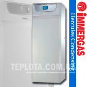 Газовый конденсационный напольный котел IMMERGAS HERCULES CONDENSING ABT 32 2 kW (с бойлером 120л и дополнительным контуром теплый пол)
