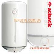 Водонагреватель ATLANTIC STEATITE PRO NEW 50 литров - модель 2012 года (бойлер ATLANTIC STEATITE VM 050 D400-1-BC) Акция - колбовый фильтр в подарок