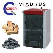 Твердотопливный котел Viadrus Hercules U 26 (6 секций, 37,5 кВт)