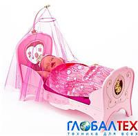 Интерактивная кроватка для куклы BABY BORN - СЛАДКИЕ СНЫ ПРИНЦЕССЫ, свет, звук (819562)