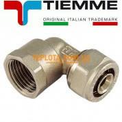 Резьбовой фитинг Tiemme угол (колено) с внутренней резьбой д.20х2-1)2* мм