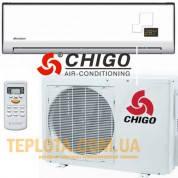 Кондиционер CHIGO CS-25H3A-V (серия CHIGO Standart Plus - 2013 год, 9-ка, фреон 410) - АКЦИЯ