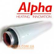 Коаксиальный  удлинитель ALPHA длиной 500 мм, диаметр 60-100, для газовых котлов Alpha и Immergas