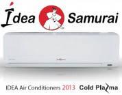 Кондиционер IDEA IDEA ISR-09HR-T + cold plazma, серия Samurai, R22