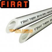 FIRAT - Труба PN20 - д.25мм (труба полипропиленовая для горячей и холодной воды, цена за 1м.п)